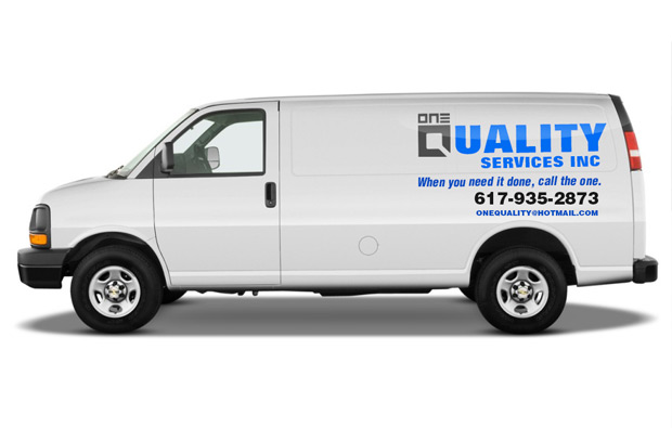 Case_Study_Mock_Up_One_Quality_Cleaning_van